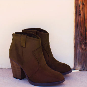 Rebel Booties - Brown
