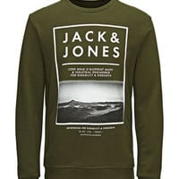 CLASSIC PRINTED SWEATSHIRT - Jack & Jones