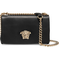 Versace - Leather shoulder bag