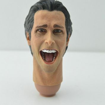 "Batman Dark Knight gift Christmas 1/6 Batman Bell American Killers Mouth Laughing Head Model Toys For 12"" Figure A AT_71_6"