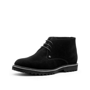 Casual Cow Suede Breathable Ankle Desert Boots
