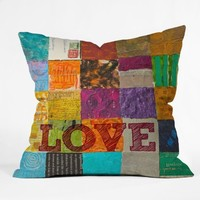 DENY Designs Elizabeth St Hilaire Nelson Love Throw Pillow, 20-Inch by 20-Inch