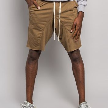 Dropped Crotch Sweat Shorts JS15 - F1F