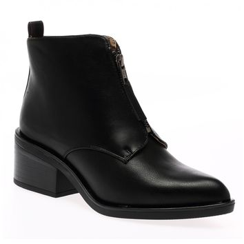 Fritha Black Ankle Boots