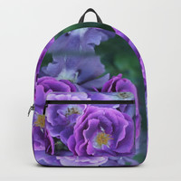 Deep purple roses. Backpack by albert12001