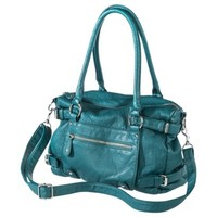 Mossimo® Zip Closure Satchel - Teal