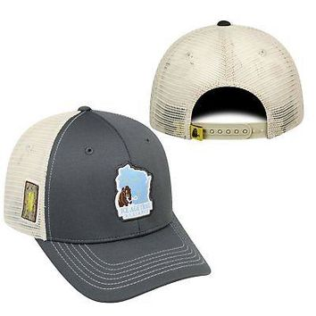 Licensed Ice Age Trail Alliance Adjustable Ranger 1 Hat Cap Mesh Curved Bill KO_19_1