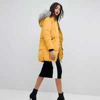 River Island Oversized Padded Jacket at asos.com