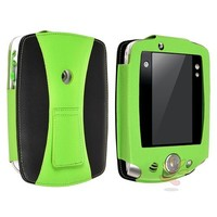 Everydaysource Compatible With Leapfrog LeapPad 2 Green/ Black Leather Case