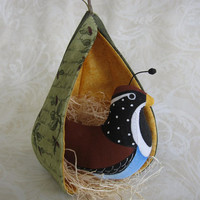 Partridge in a Pear Tree Ornament by lkQuiltArt on Etsy