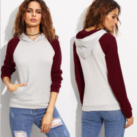 Color Block Causal Sweater B0014391