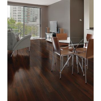 Florida Tile Home Collection Beautiful Wood Cherry 8 in. x 36 in. Porcelain Floor and Wall Tile (14 sq. ft. / case)-HDE966018X36 - The Home Depot