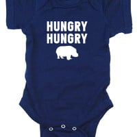 Hungry Hungry Hippo Bodysuit and Tee