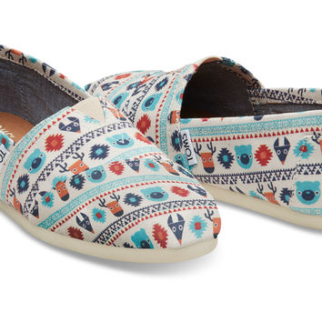 Birch Critters Canvas Women's Classics