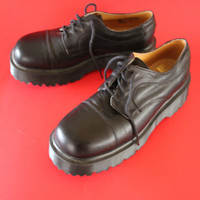 VINTAGE black Doc Marten shoes UK size 6