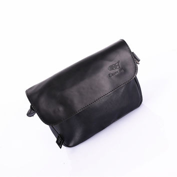 Bags Korean Mini Stylish PU Leather Casual Shoulder Bags [6583352327]