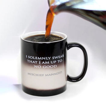 Harry Potter I Solemnly Swear...Mischief Managed Heat Transforming Mug | WBshop.com | Warner Bros.