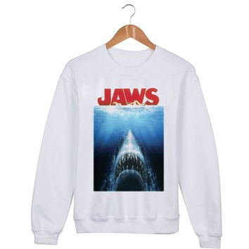 Jaws movie Sweater sweatshirt unisex adults size S-2XL