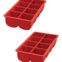 Big Block Ice Cube Tray - Set of Two