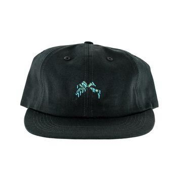 Raised by Wolves Palm Polo Cap Black
