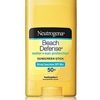 Neutrogena Sunscreen Beach Defense Stick SPF 50, 1.5 Ounce