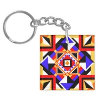 Safety in Syncopation Key Ring Acrylic Keychains