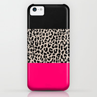 Leopard National Flag IV iPhone & iPod Case by M Studio