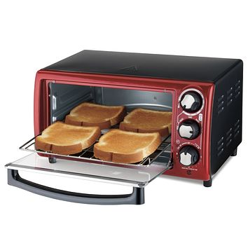 Small Space Saving Countertop Compact Dorm Room Toaster Oven
