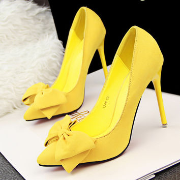 High Heels Thin Heels Ladies Wedding Shoes