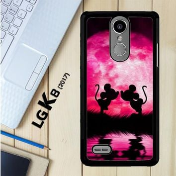 Mickey Minnie Mouse Silhouette W4418 LG K8 2017 / LG Aristo / LG Risio 2 / LG Fortune / LG Phoenix 3 Case