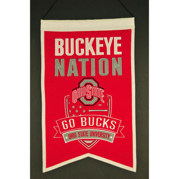 Ohio State Buckeyes NCAA Nations Banner (15x20)