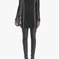 Embroidered mini dress | Women's dresses | Balmain