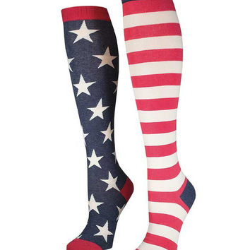 Socksmith Flag Knee High Socks