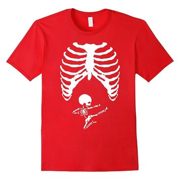 Ninja Skeleton Baby Maternity Pregnancy T-Shirt