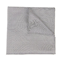 River Island MensGrey twill pocket square