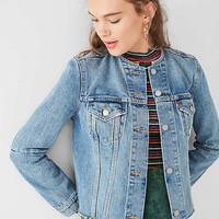 Levi's Altered Collarless Denim Jacket | Urban Outfitters