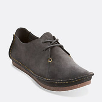 Janey Mae Beeswax Leather - Clarks Womens Shoes - Womens Heels and Flats - Clarks - Clarks® Shoes