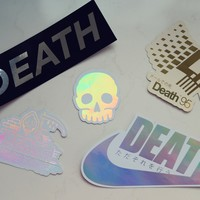The Death Sticker Pack
