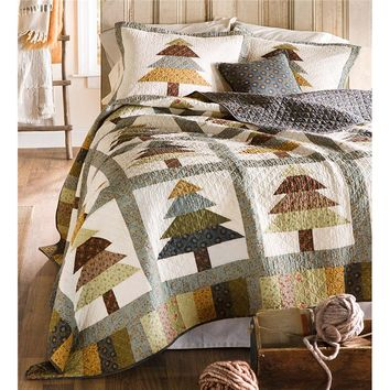 King Evergreen Forest Quilt Set | Collection Accessories