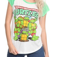 Teenage Mutant Ninja Turtles Retro Girls T-Shirt - 369831