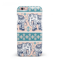 Walking Sacred Elephant Pattern V2 iPhone 6/6s or 6/6s Plus INK-Fuzed Case