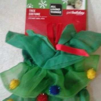 All Living Things Tree Costume~Fits MOST Small Pets~