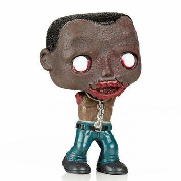 Imperfect Funko POP Second-hand TV Series The Walking Dead Michonne Pet Walker 2 Zombie Figure Decorative Model Toy Cheap No box