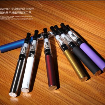 Clear Pilot Vape Starter Kit CE4 Electronic E Pen Cigarette 650mAh Battery Vapor