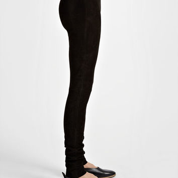 Suede Stretch Legging