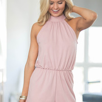 Going Round And Round Romper