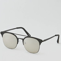 AEO Metal Retro Sunglasses, Black