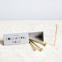 Catbird :: shop by category :: HOME & GIFTS :: Equilateral Triangle Nails
