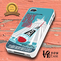 Space Mountain Vintage Disney Poster for iphone, ipod, samsung galaxy, HTC and Nexus PHONE CASE