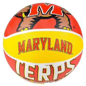 "9.5"" MARYLAN TERRAPINS REGULATION BASKETBALL"
